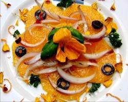 Orangencarpaccio Siziliana
