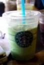 green tea machiato, ist ja auch fast kaffee title=