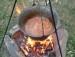 Szegediner Gulaschsuppe mit Kartoffeln und Sauerkraut picture