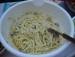 Spaghettisalat mit Parmesan picture