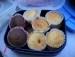 Schoko und Vanille-Muffins picture