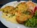 Gemüsemedaillons mit Käsesoße picture