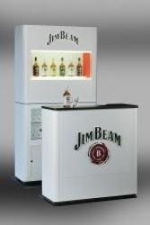 Jim Beam setzt ab sofort mobile Bars in der Gastronomie ein