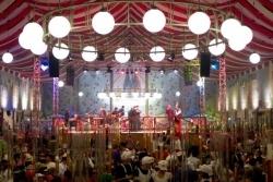 Kölschfest: Karnevalszelt am Südstadion