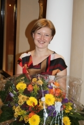 Katharina Burkart ist Receptionist of the Year