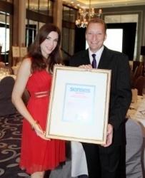 Conrad Maldives gewinnt Senses Gourmet Award 2011