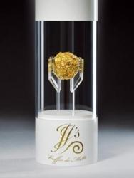 Die teuerste Praline der Welt ist mit 23 Karat Gold überzogen