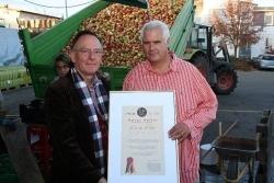 Horst Heller erhält Coq d'Or Award
