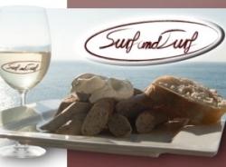 Patent für Surf 'n' Turf Bratwurst