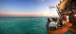 Baros Maldives: das Dinner fängt man selbst