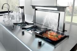 Moderne Dunstabzugshauben sorgen für frische Luft in der Küche
