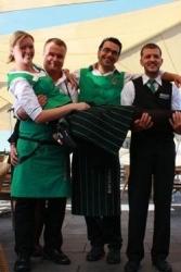 Blockbräu: Berufskleidung der Mitarbeiter ist Teil des Konzepts