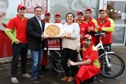Joey's Pizza: 200. Filiale eröffnet