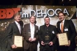 Discothekenunternehmerpreis 2012 für Hilke und Peter Meyer