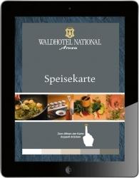 iPad als interaktive Speisekarte