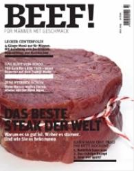 BEEF! Neues Kochmagazin für Männer
