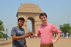 St. Erhard: deutsches Bier in Indien