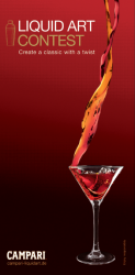 Campari Liquid Art Contest 2013