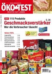 ÖKO-TEST untersucht in neuester Ausgabe Geschmacksverstärker
