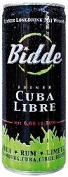 Bidde-Cuba Libre: Longdrink aus der Dose