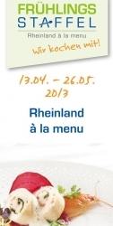 Kulinarische Frühlingsstaffel im Rheinland