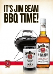 Jim Beam startet Grill-Aktion