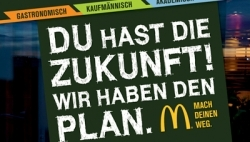 Azubi-Kampagne bei McDonald's