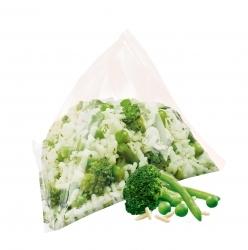 Gemüse-Reis Pyramiden von iglo