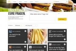 Plattform: Gäste fragen, McDonald's antwortet