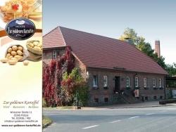 """Wildbratwurst im Restaurant """"Zur goldenen Kartoffel"""""""