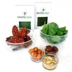 Pesto: Pestolero mischt individuell nach Kundenwunsch