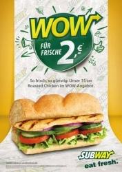 Subway Sandwiches startet Preisoffensive