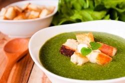 Abwechslung in der Winterküche – Spinat aus der Tiefkühltruhe