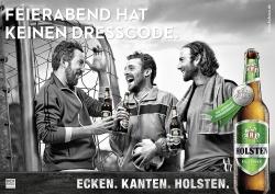 Holsten: Bierbrauer schieben Feierabend-Kampagne an