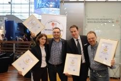 """DWI verleiht drei Gastronomen den Titel """"Ausgezeichnete Weingastronomie"""""""