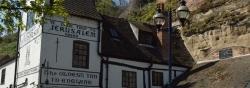 """Ältester Pub Großbritanniens: """"Ye Olde Trip to Jerusalem"""""""