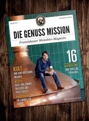 """Franziskaner veröffentlicht Weissbier-Magazin """"Die Genuss Mission"""""""