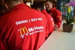 McHome: McDonald's-Lieferdienst geht in den täglichen Langzeittest
