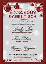Heiligabend in der Vinylbar Frankfurt