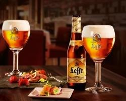 Sheraton Frankfurt Airport Hotel: Leffe-Bier im offenen Ausschank