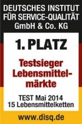 Bester Lebensmittelmarkt 2014: Kaufland