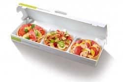 Neues Snack-Konzept bei Joey's Pizza: MixBox mit drei kleinen Pizzen