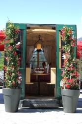 Hotel Jagdhof im Stubaital baut Ski-Gondel zu kleinem Gourmetrestaurant um