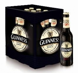 Guinness Extra Stout jetzt auch im 11er Kasten erhältlich
