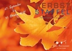 Rheinland à la menu: Herbststaffel 2014 eingeläutet