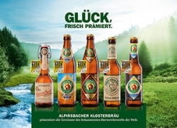 World Beer Awards in London: Alpirsbacher Klosterbräu räumt Preise ab