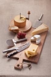 Bayerische Milchwirtschaft präsentiert passende Werkzeuge für jeden Käse