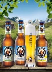 Zwei neue alkoholfreie Biere im Sortiment von Franziskaner