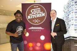 Soul Kitchen mit Nelson Müller: Lifestyle-Musik und -Küche auf der Europa 2