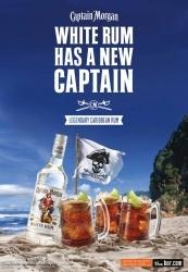 Diageo launcht Captain Morgan White Rum in Deutschland und Österreich